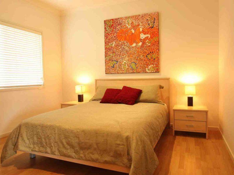 2bdr cottage hunter accommodation bedroom